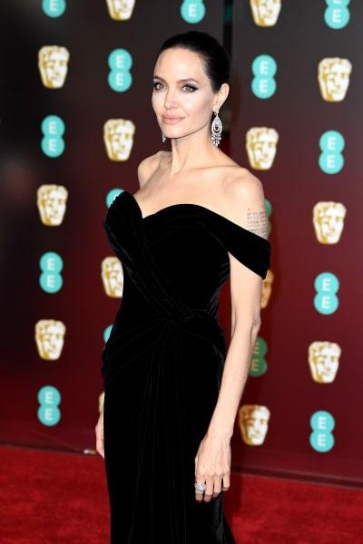 Angelina Jolie BAFTA Pose