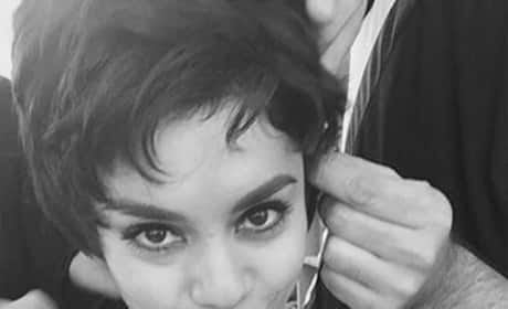 Vanessa Hudgens in Black and White