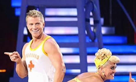 Sean Lowe on DWTS