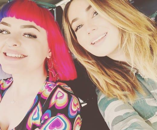 Erika Owens and Stephanie Matto on Instagram