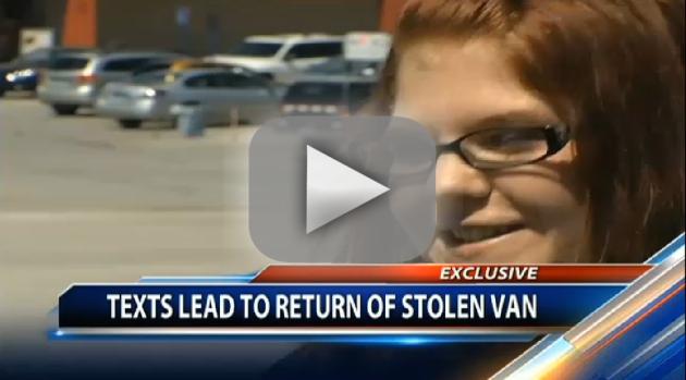 Single Mom Convinces Car Thief to Return Vehicle