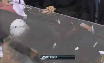 Justin Bieber Spotted at Kings Game: Hey, Keyshawn!