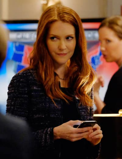 Abby on Scandal