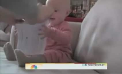 Micah the Laughing Baby Visits the Today Show!
