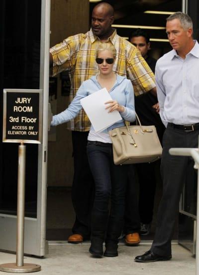Heidi Montag in Court