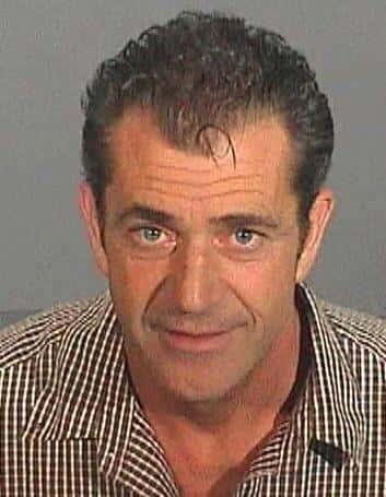 Mel Gibson mug shot