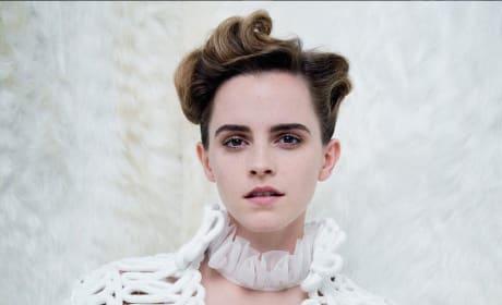 Emma Watson Topless in Vanity Fair