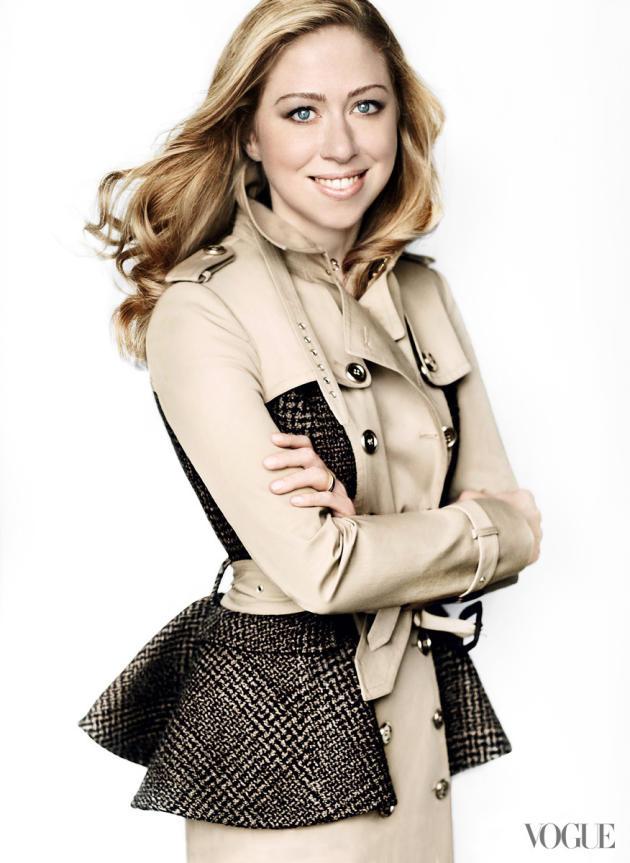 Chelsea Clinton Vogue