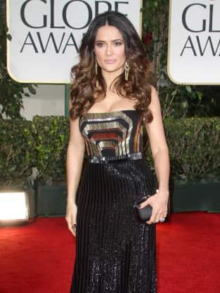Salma Hayek Golden Globes Dress