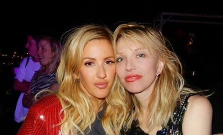 Ellie Goulding and Courtney Love Coachella 2016