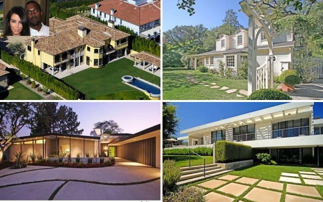 Kim kardashian and kanye wests house