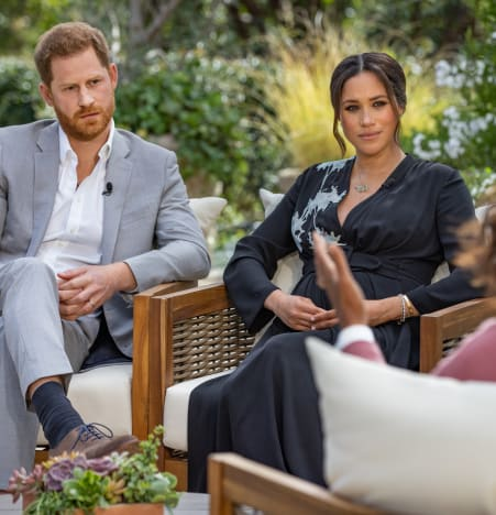 Meghan Markle and Harry Interview
