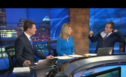 Weatherman Finds Hanger in Suit During Live Broadcast: WATCH!
