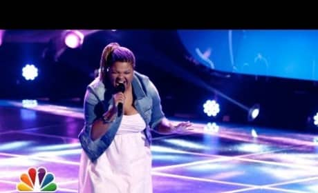 Stephanie Anne Johnson - Black Horse and the Cherry Tree (The Voice Blind Audition)