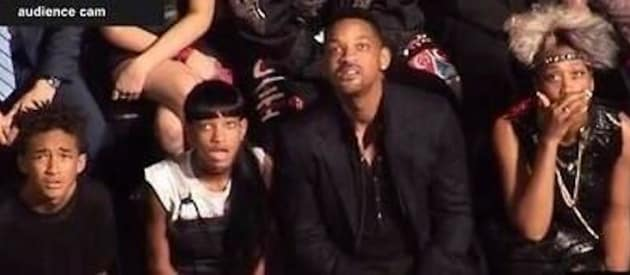 Will Smith, Family React to Miley Twerking