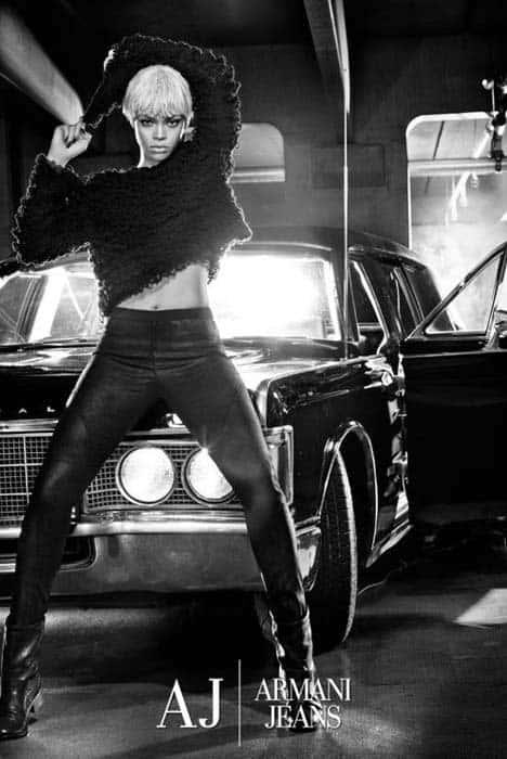 Rihanna Armani Ad