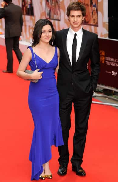 Andrew Garfield and Shannon Woodward