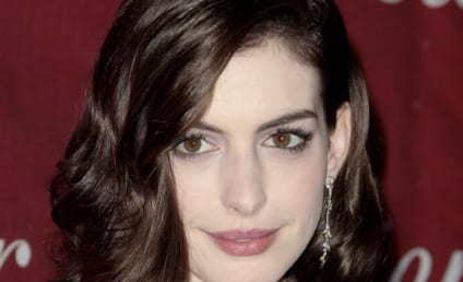 Anne Hathaway Promotes Charitable Organization