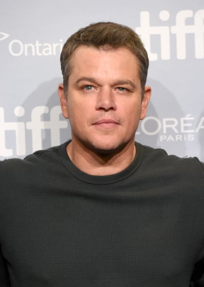 It's Matt Damon
