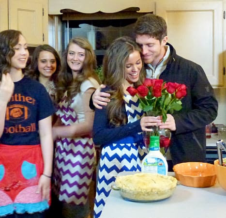 Jessa duggar and ben seewald engagement
