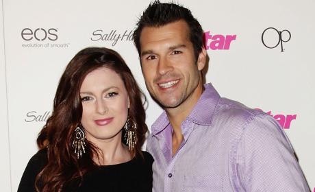 Rachel Reilly and Brendon Villegas