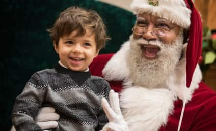 Racist Trolls Freak Out Over Black Santa Claus at Mall