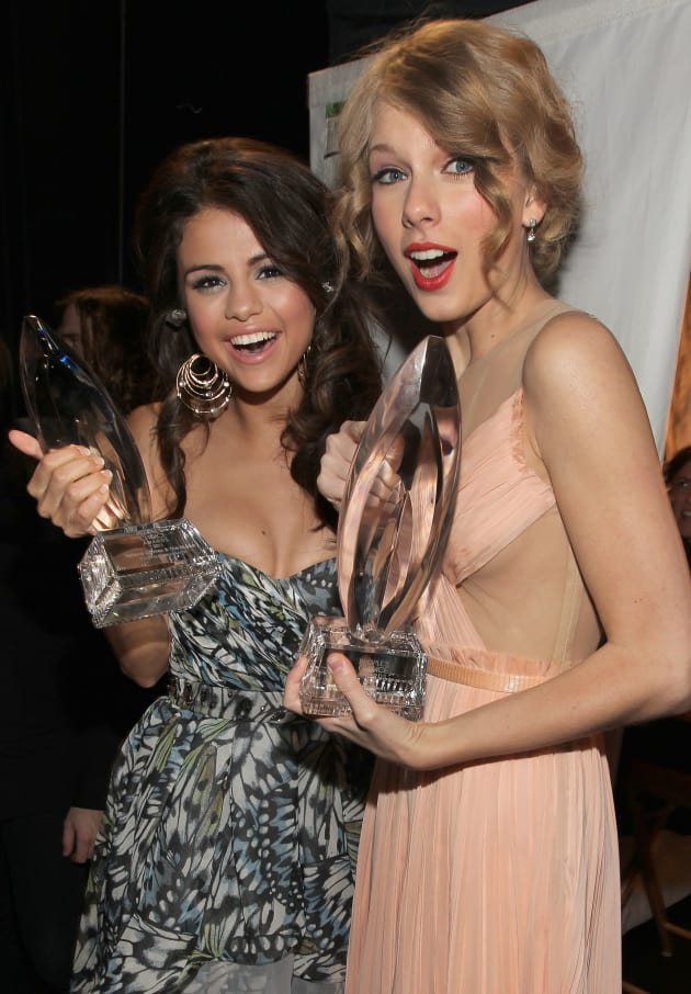 Selena Gomez and Taylor Swift in 2011