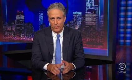 Jon Stewart Signs Off: Watch His Daily Show Goodbye