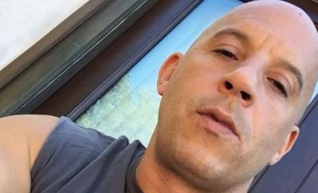 Vin Diesel Close Up