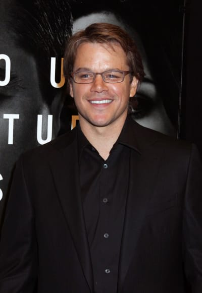 Matt Damon Photograph