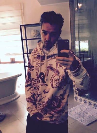 Liam Payne Selfie
