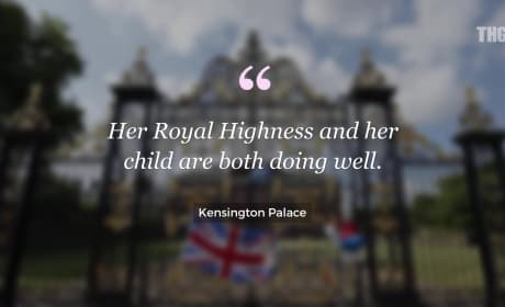 Kate Middleton and Prince William Welcome a Boy!