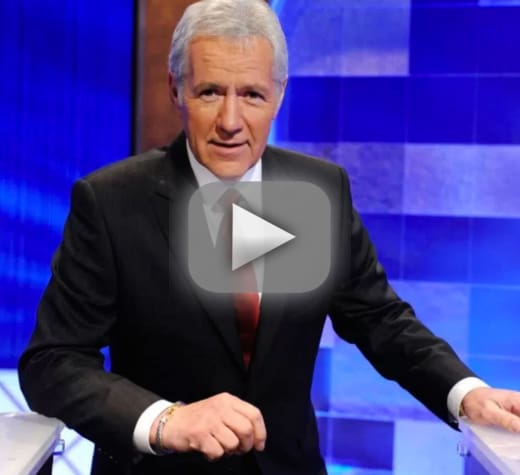 Alex trebek raps on jeopardy is totally lit