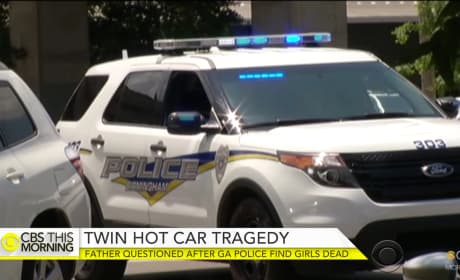 Father Arrested After 15-Month-Old Twins Die in Hot Car
