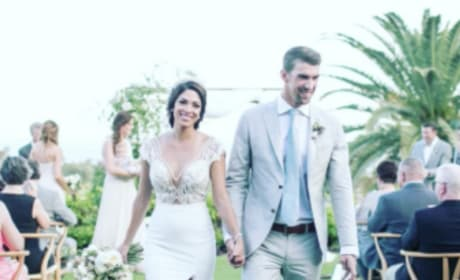 Michael Phelps Wedding Picture