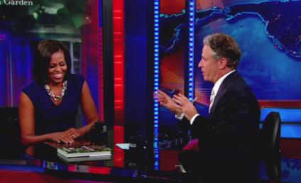 Michelle Obama (Sort of) Speaks on Barack's Pot-Smoking Ways