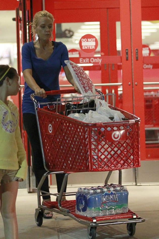 Kate Gosselin at Target