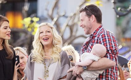 Tori Spelling: Maybe Pregnant, Definitely Riding Bike