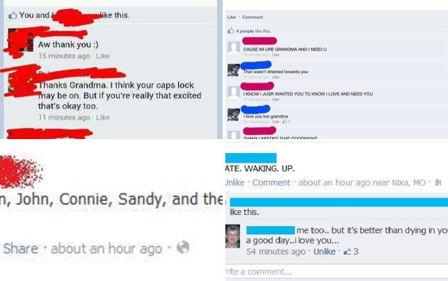 13 reasons grandparents shouldt use facebook they cant see