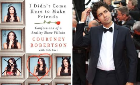 Courtney Robertson Talks Adrian Grenier