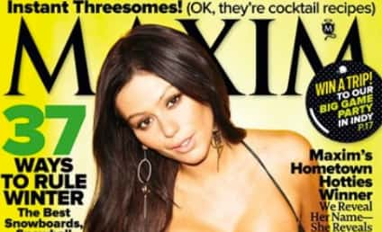 JWoww Maxim Cover: Voluptuous, Ridiculous