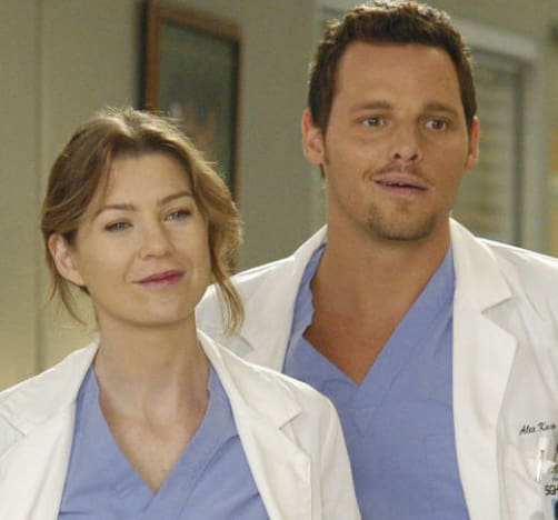 Meredith and Alex