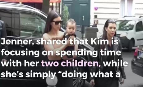 Kris Jenner Speaks on Kim Kardashian