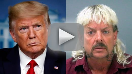 Joe exotic to donald trump either let me out of prison or prepar