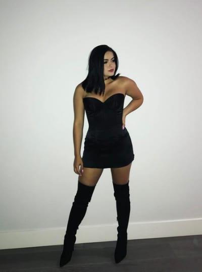 Ariel Winter in Black