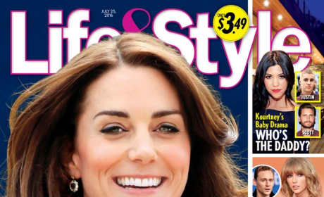Kate Middleton Life Style Cover Pregnant Pic