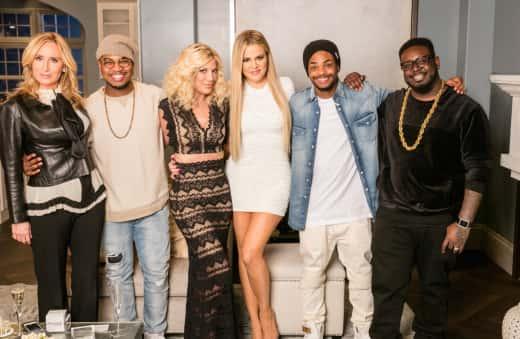 Khloe Kardashian and Guests