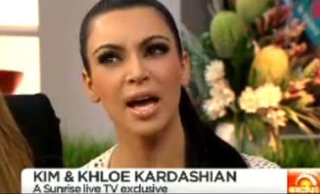 Kim Kardashian Sunrise Interview