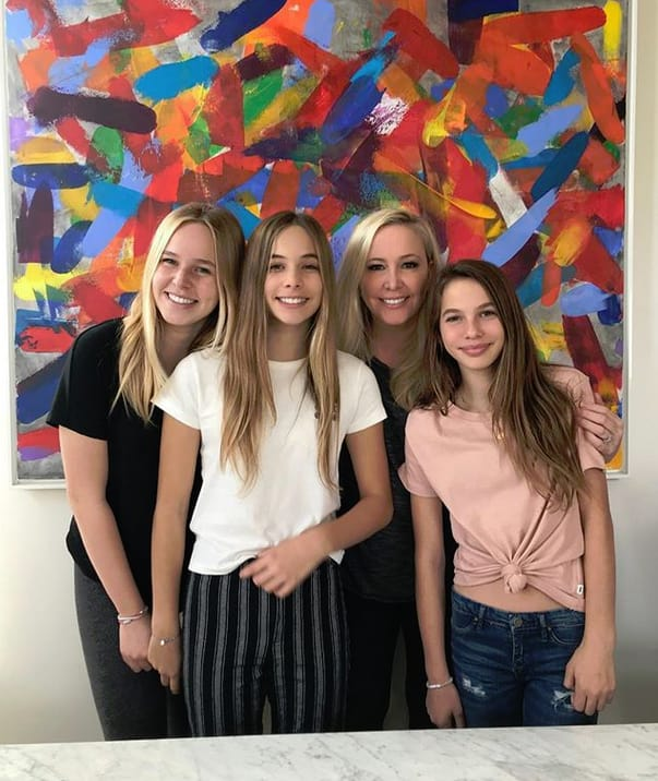 Shannon Beador and Daughters, 2018
