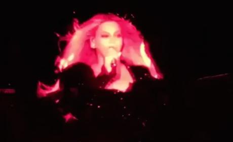Beyonce in Barcelona, Spain